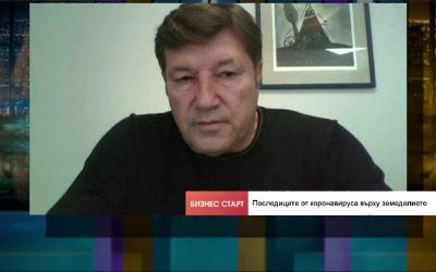 Венцислав Върбанов: Кризата не се отразява на земеделския сектор